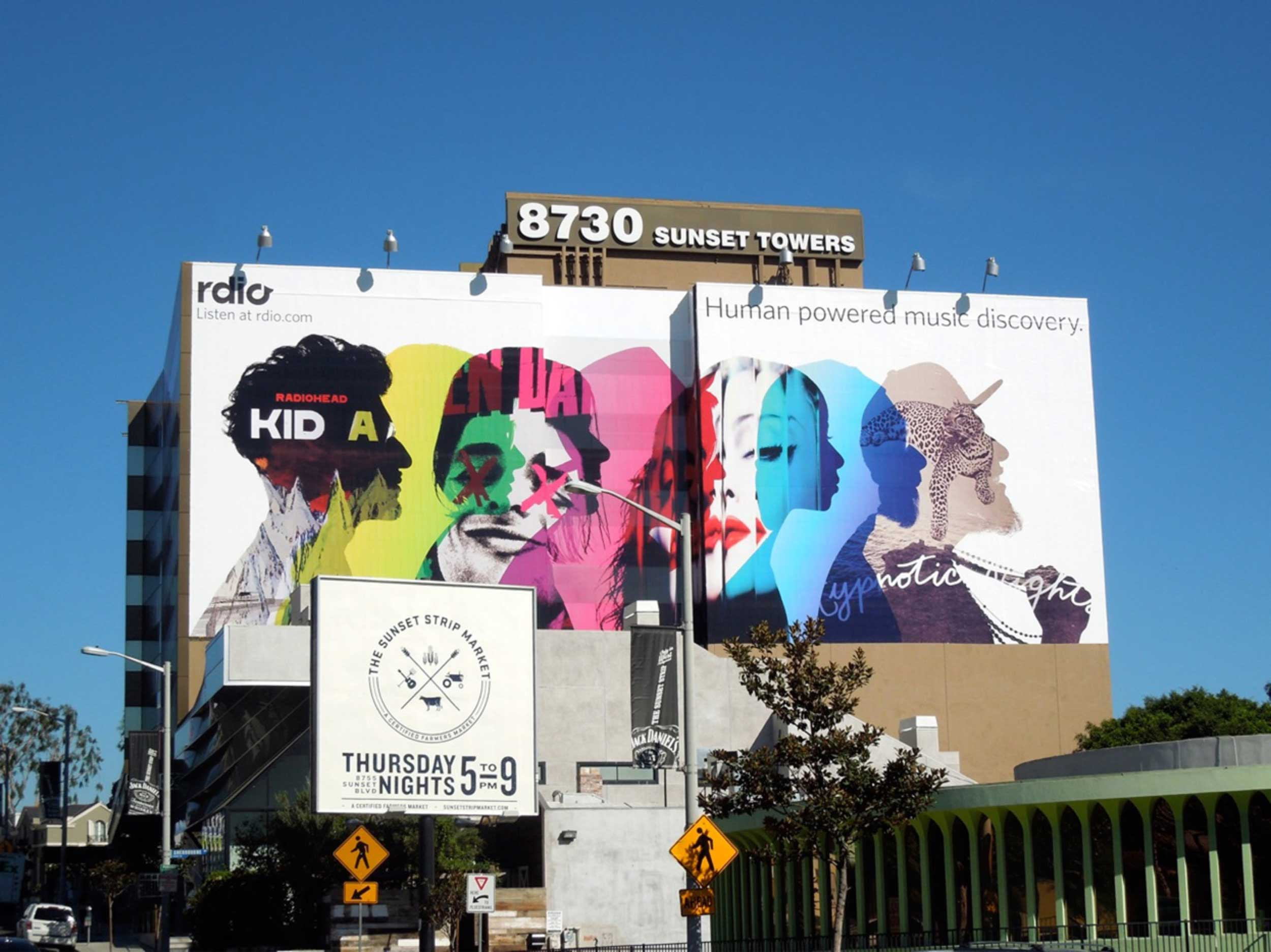 LA billboards
